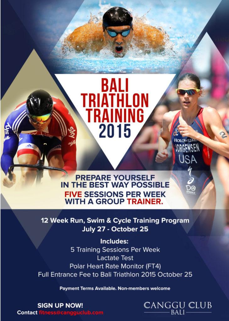 Przykład programu treningów przygotowujących do udziału w triathlonie